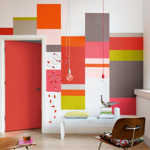 Colour futures 2015 trend friendly barter vardagsrum popart färgblock