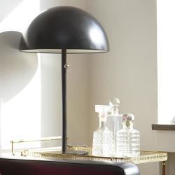 retro lampa kristallkaraffer barvagn guld