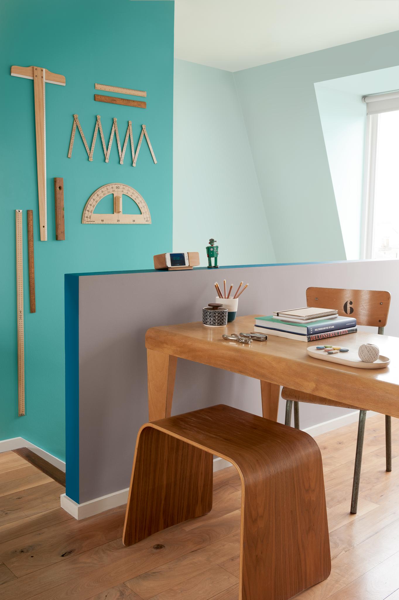 Energifyllt arbetsrum   nordsjö idé & design