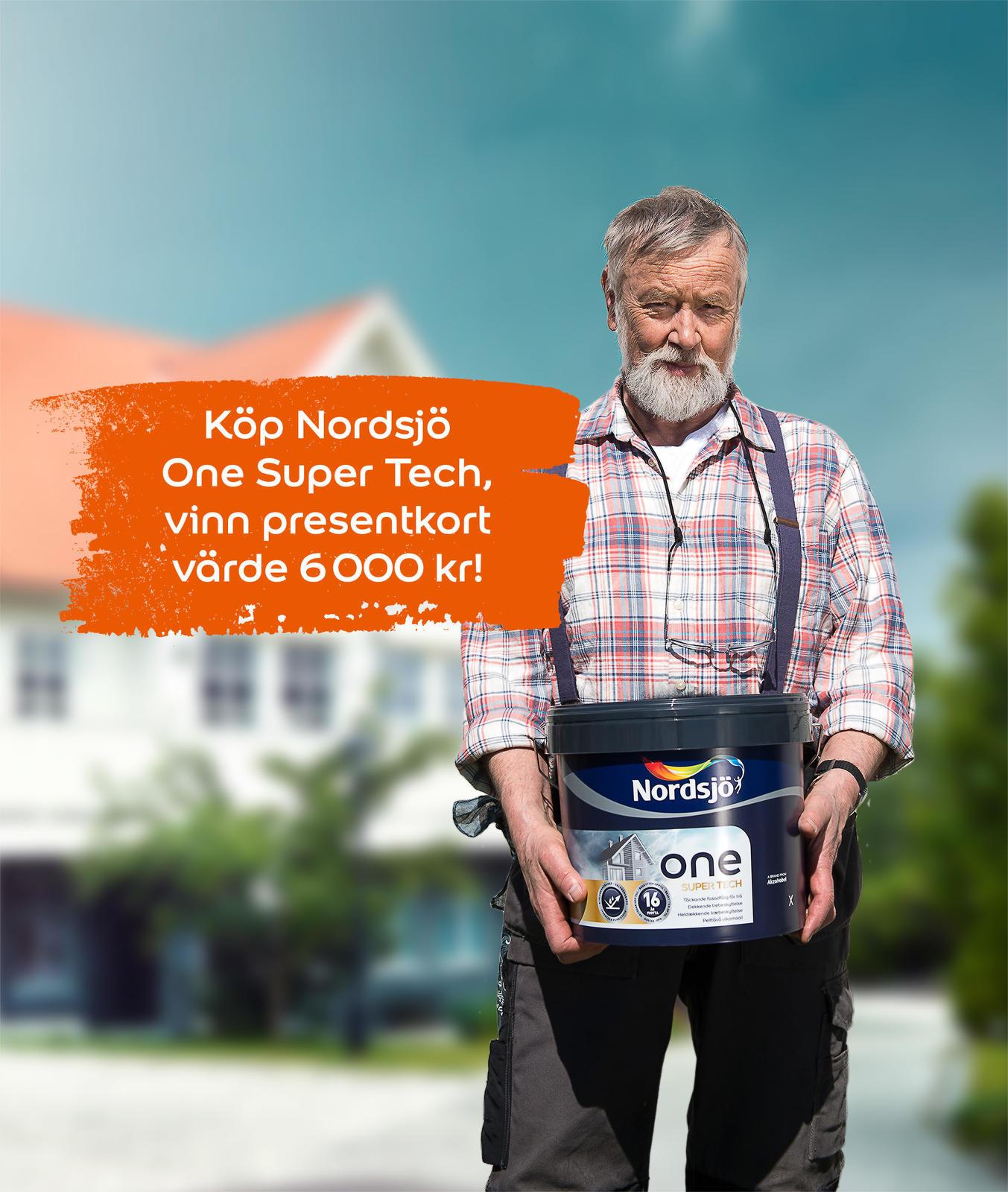 Vinn färg till ditt hus!   nordsjö idé & design