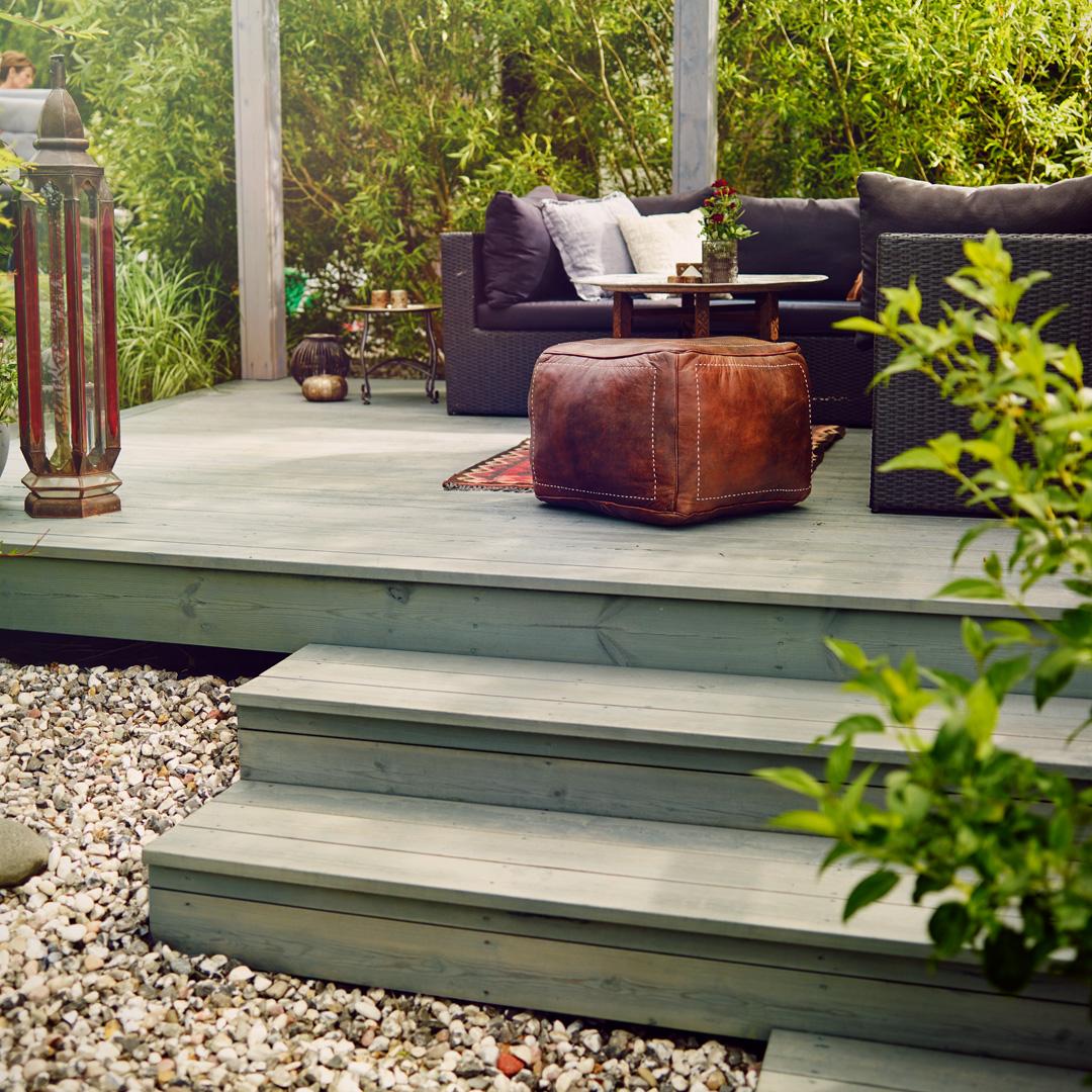 Populära Olja terrass - välj bland en mängd nyanser - Nordsjö Idé & Design DS-54