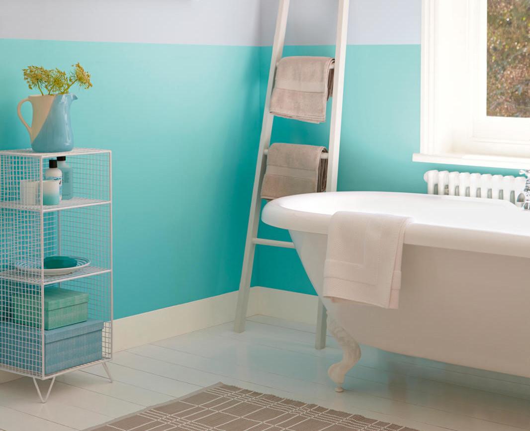 Måla badrum - Våra våtrumsfärger - Nordsjö Idé   Design 0d28ab179a0f0